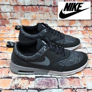 Nike Air Max Thea Womens 11 Low Black Safari Print